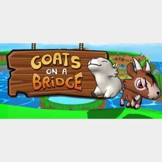 Goats On A Bridge