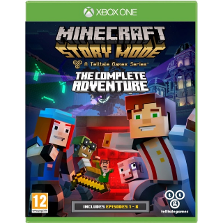 Minecraft story mode!!The complete adventure xbox one key!!! REGION FREE!!!(Auto delivery )!!
