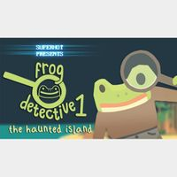 The Haunted Island, A Frog Detective Game [STEAM KEY GLOBAL]