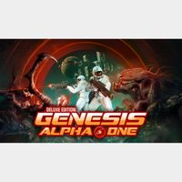 Genesis Alpha One Deluxe Edition [STEAM KEY GLOBAL]
