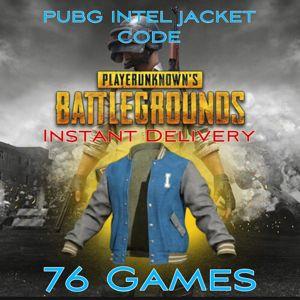 PUBG   Intel Jacket code