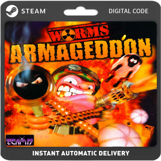 Worms Armageddon PC Steam (Global) Instant Delivery