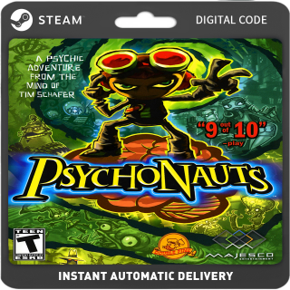 Psychonauts PC Steam (Global) Instant Delivery