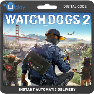 Watch Dogs 2 Uplay (EU) Key PC Instant Auto Delivery