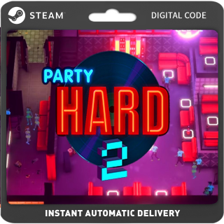 Party Hard 2 PC Steam (Global) Instant Delivery
