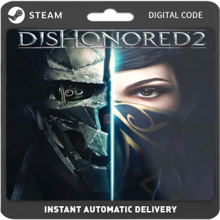 Dishonored 2 PC Steam (Global) Instant Delviery