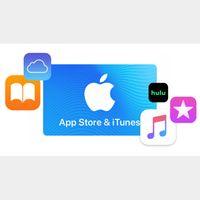 $25.00 iTunes *𝐀𝐔𝐓𝐎 𝐃𝐄𝐋𝐈𝐕𝐄𝐑𝐘*✔