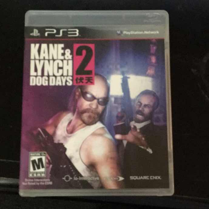 Kane and Lynch 2 Dog Days for Ps3