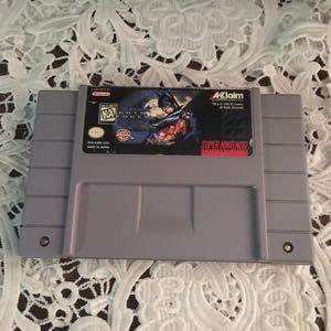 Batman Forever Super Nintendo Entertainment System