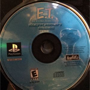E.T the extra terrestrial game ps1
