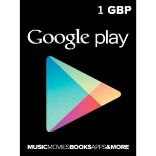 £1.00 Google Play {UK Only} [Instant]