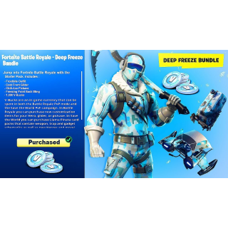 Fortnite Deep Freeze Bundle / 3.000 V-Bucks (Global / Region Free)