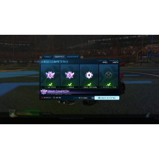 I will Boost you to Champ 1and get your Rewards on 2s or 3s Xbox/Steam