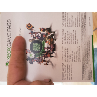 14 Days XBOX LIVE GOLD and 14 Days XBOX GAME PASS digital codes INSTANT DELIVERY