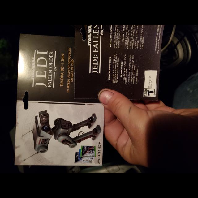 STAR WARS JEDI FALLEN ORDER tundra BD-1 skin for ps4 playstation 4