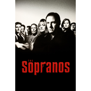THE SOPRANOS complete series (7 seasons) HDX vudu