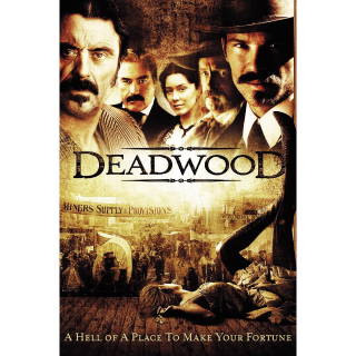 DEADWOOD complete series HDX at Vudu INSTANT DELIVERY
