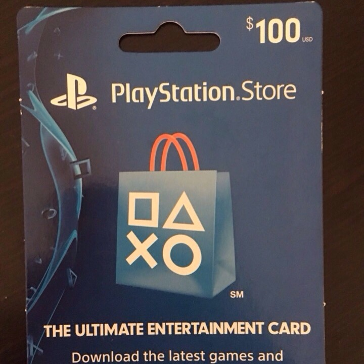 Ps4 100 Gift Card Playstation Store Gift Cards Gameflip