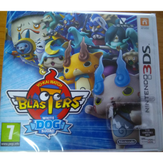 Yo-kai Watch Blasters: White Dog Squad 3DS EUROPEAN-PAL BRAND NEW FACTORY SEALED