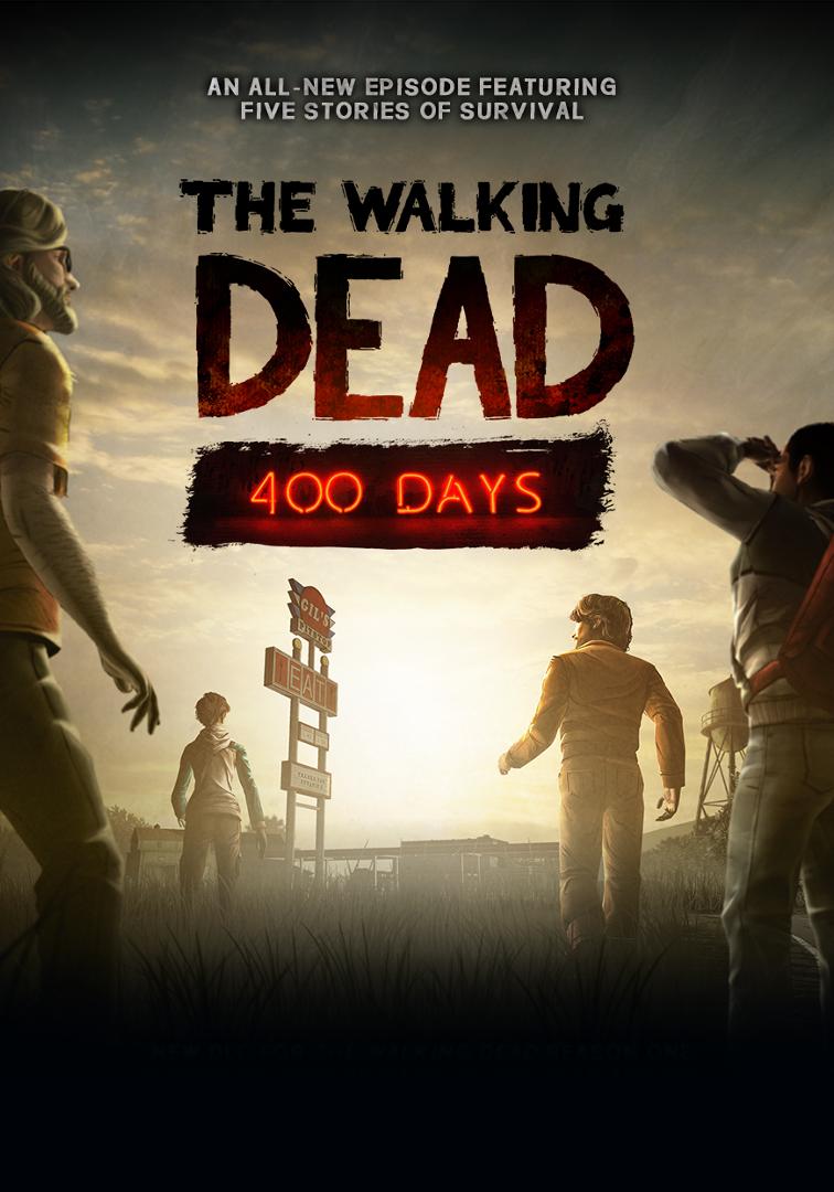 The Walking Dead + 400 Days DLC Steam CD Key
