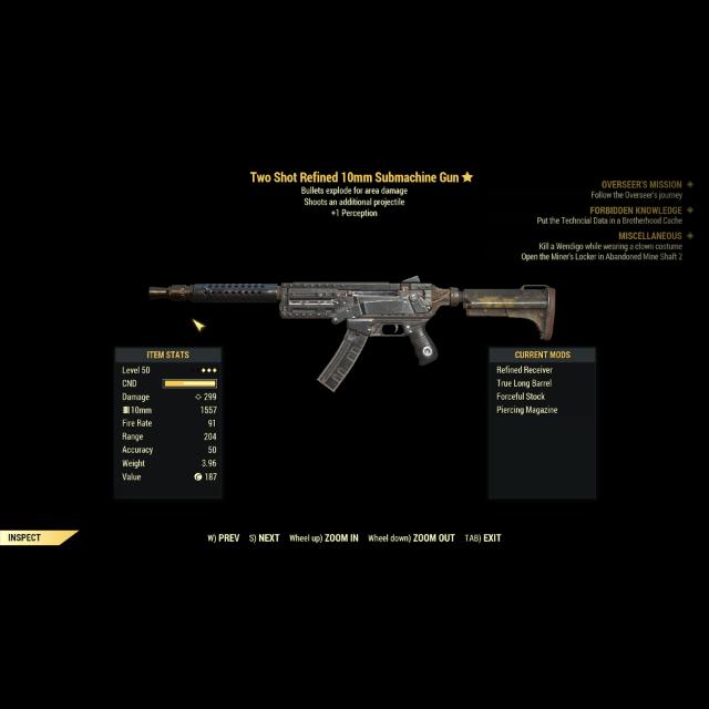 Weapon | TSE 10mm Submachine Gun - In-Game Items