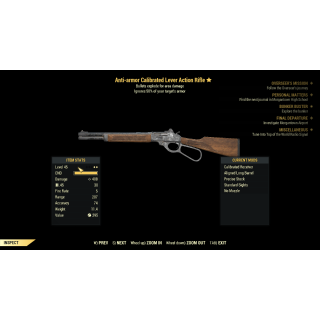 Weapon | Anti-Armor Lever Action