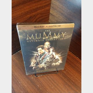 Mummy Trilogy + Scorpion King HD  iTunes Digital Codes Only – Redeems on iTunes