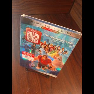 Ralph breaks the internet HD (MoviesAnywhere - Disney Movie Reward Points redeemed)