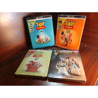 Disney's Toy Story (1-4)  4K Digital Code Only – Movies Anywhere/Vudu Only (Disney Rewards Redeemed)