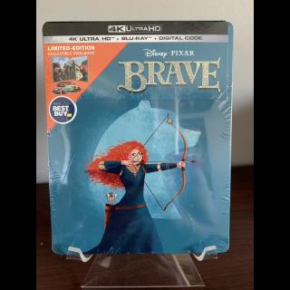 Disney's Brave 4K Digital Code Only – Movies Anywhere/Vudu (Full Code - Disney reward points redeemed)