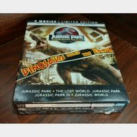 Jurassic World 4 Movie Collection 4KUHD Digital Code Only – MoviesAnywhere