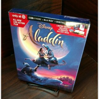 Disney's Aladdin 2019 4K Digital Code Only – Movies Anywhere/Vudu (Full Code including Disney Reward Points)