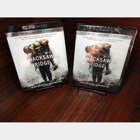 Hacksaw Ridge 4K (Vudu/iTunes/GooglePlay/Fandango)-Redeems at Movieredeem site