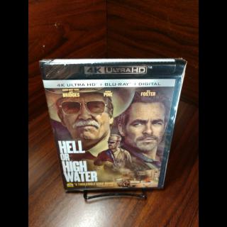 Hell Or High Water 4KUHD (Vudu/Fandango)