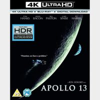 Apollo 13 (4K UHD iTunes Digital Code Only – Redeems in iTunes)