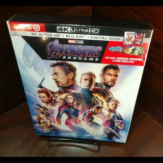 Marvel's Avengers Endgame 4KUHD (Digital Code Only) - MoviesAnywhere