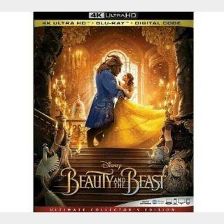 Beauty and the Beast (2017) 4KUHD (Digital Code) - MoviesAnywhere - (Full Code - Digital Points Redeemed)