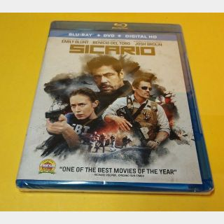 Sicario 1 HD Digital Code - Vudu/GooglePlay/Fandango (Redeems on Movieredeem site)