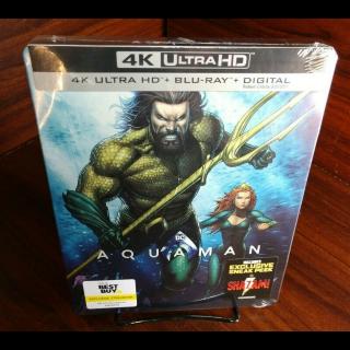 Aquaman 4KUHD Digital Code Only – MoviesAnywhere
