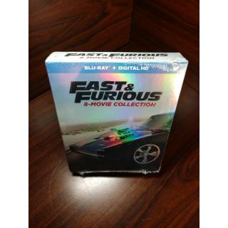 Fast and Furious 8 Movie Collection (HD iTunes Digital Code Only – Redeems on iTunes)