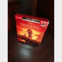 Disney's Lion King (2019) 4K HD Digital Code – MoviesAnywhere (Full Code - Disney Reward Points redeemed)