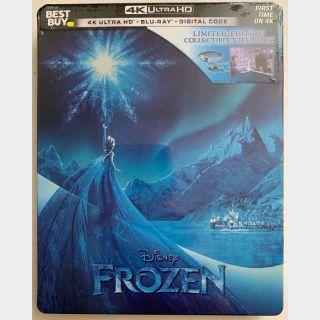 Disney's Frozen 4K Digital Code Only – Movies Anywhere/Vudu (Full Code - Disney reward points redeemed)
