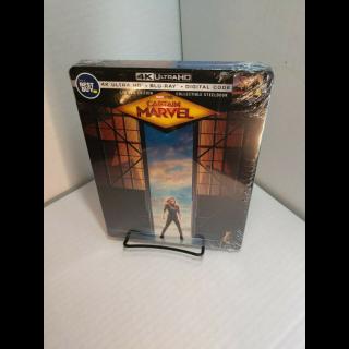 Marvel's Captain Marvel 4K Digital Code – Movies Anywhere/Vudu (Full Code - Disney Reward Points redeemed)