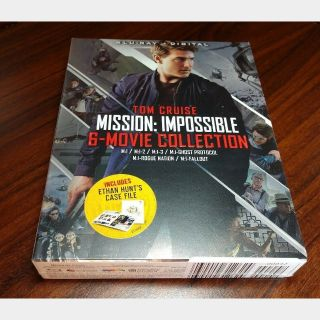 Mission Impossible 6 Movie Collection HD Digital Code (Vudu Only - Redeems on Paramount site)
