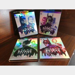 Batman Anthology (1989 - 1997) 4KUHD Digital Code  – MoviesAnywhere