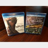 Glass and Split - HD Digital Code – Movies Anywhere