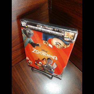 Disney's Zootopia 4K Digital Code (Full Code - Disney Reward Points redeemed)