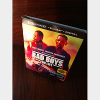 Bad Boys for Life (4K UHD Digital Code Only) – MoviesAnywhere