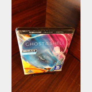Ghost in the Shell 1995 (4K Vudu) - Redeems on Movieredeem site