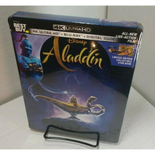 Disney's Aladdin 2019 4K Digital Code Only – Movies Anywhere/Vudu Only
